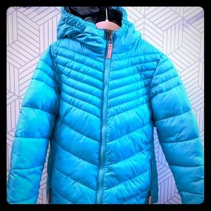 Girls Champion quilted coat 6/6x